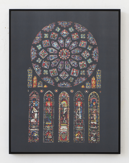 , 'Cathédrales Hermétiques – vitraux, Cathedral of Our Lady of Chartres III, 13th century,' 2016, Seelevel Gallery