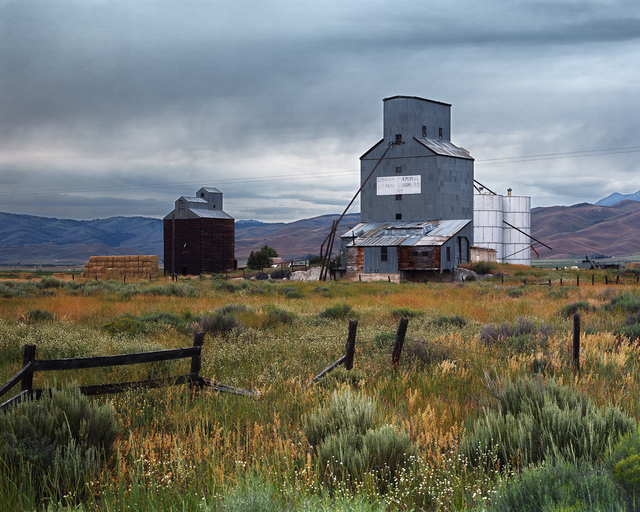 , 'Grain Elevators at the Town of Corral, Camas County, Idaho, 2015 1/5,' , Gail Severn Gallery
