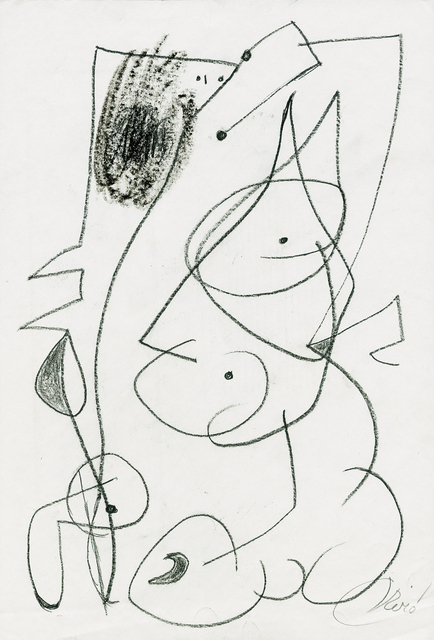 Joan Miró, 'Homme et femme', 1977, Galerie Boisseree
