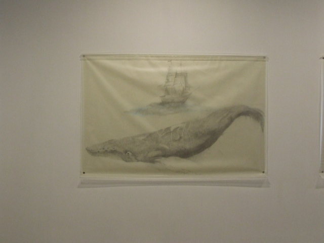 , 'Whale with Ship,' 2009, Fort Worth Contemporary Arts
