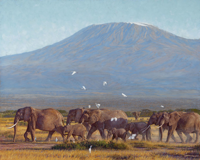 , 'NEAR THE SLOPES OF KILIMANJARO,' , Trailside Galleries