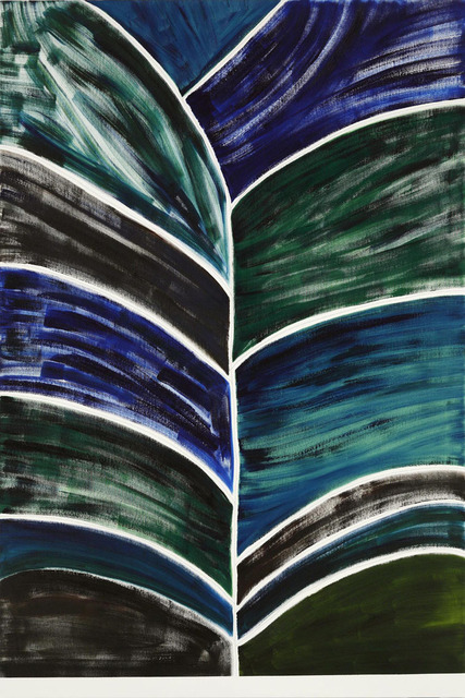 , 'Dark Tree (Blue, Green, Brown),' 2010, Tomio Koyama Gallery