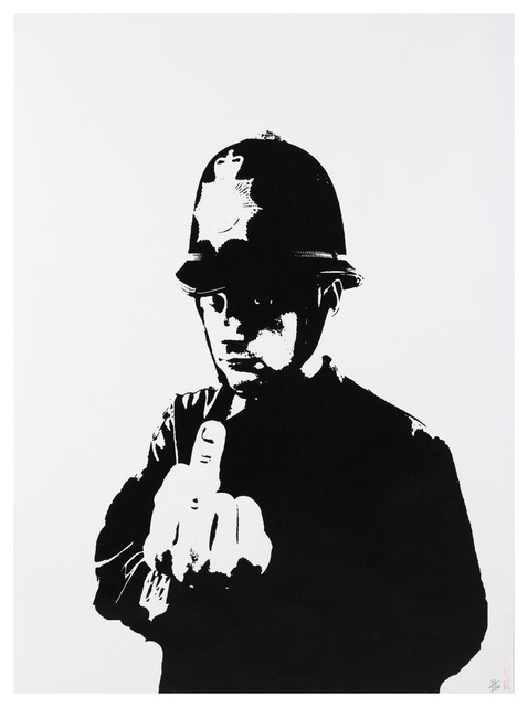 Banksy, 'Rude Copper', 2002, Chiswick Auctions