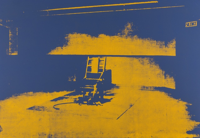 Andy Warhol, 'Electric Chairs (Sunday B. Morning)', Print, Complete set of ten screenprints in colours on stiff wove paper, Forum Auctions
