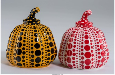 Red and Yellow Pumpkin (two works)