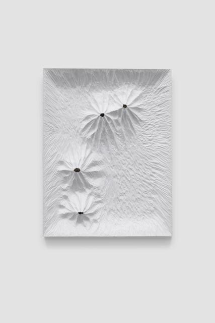 , 'Untitled (White Woodboard 2019 No.3),' 2019, Beijing Commune