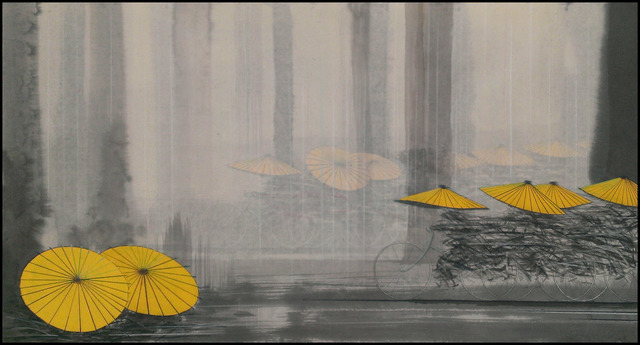 , 'Yellow Reflection,' 2014, Verne Collection, Inc.