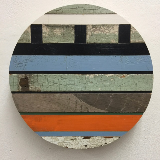 , 'Porthole XXXIV,' 2018, The Schoolhouse Gallery