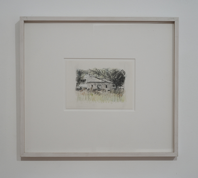 , 'Abandoned House in Field,' 1988, Galerie Julian Sander