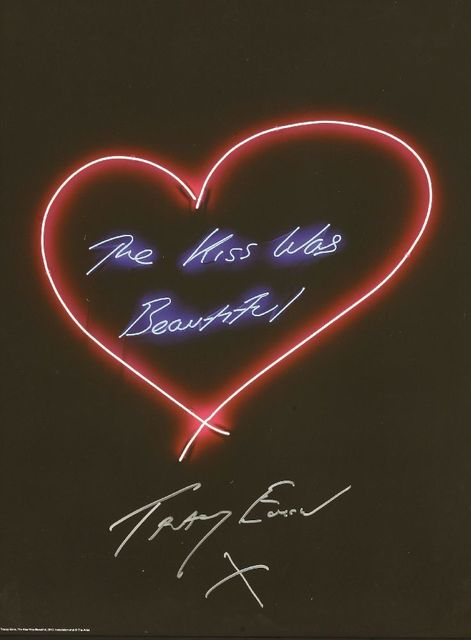 Tracey Emin, 'The Kiss Was Beautiful', 2015, Sworders