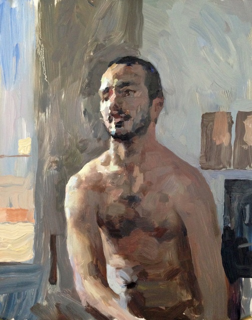 , 'Carmine 1,' , Sirona Fine Art