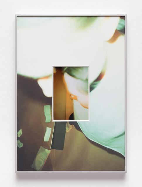 , 'Tawny split, delay,' 2018, Jessica Silverman Gallery