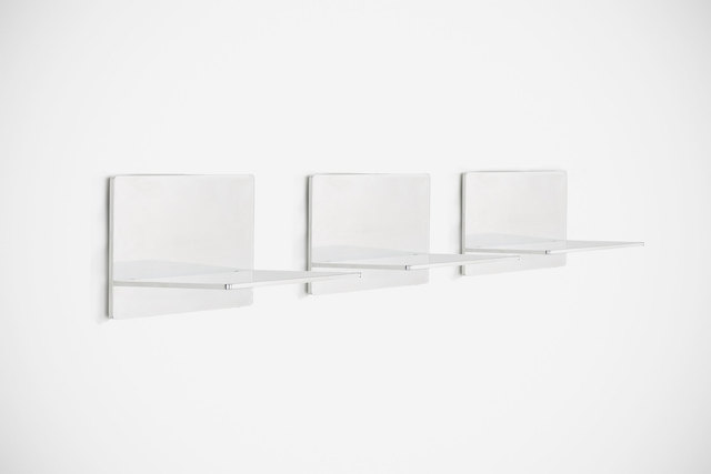 ", '""GV"" shelves,' 2013, Casati Gallery"