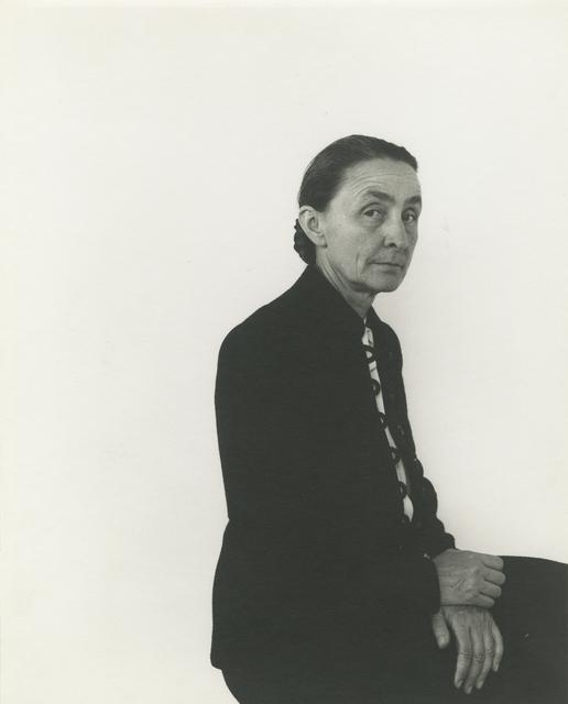 , 'Georgia O'Keefe, NYC,' 1944, Howard Greenberg Gallery