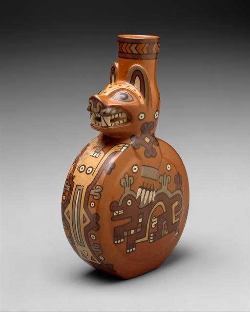 Unknown Wari, 'Feline Bottle', 8th–10th century, The Metropolitan Museum of Art