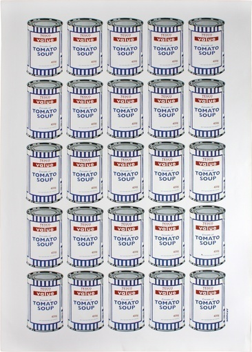 Banksy, 'Soup Cans', 2007, Lougher Contemporary Gallery Auction