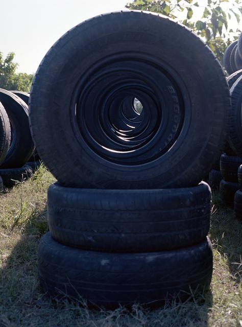 , 'More tyres,' 2013, Sies + Höke