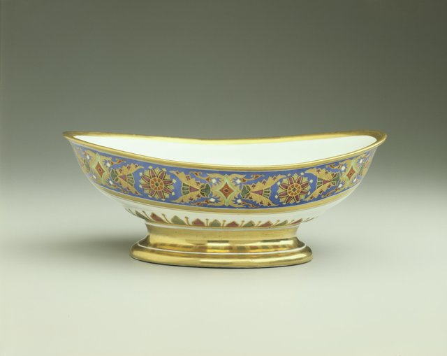 Imperial Porcelain Factory, 'Salad Bowl from the Gothic Service', 1890, Hillwood Estate, Museum & Gardens