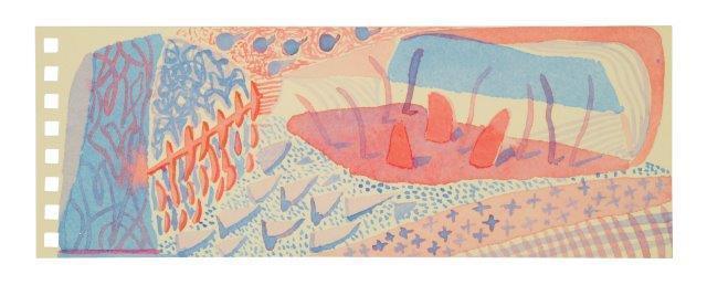 David Hockney, 'Composition Red & Blue', 2005, Roseberys