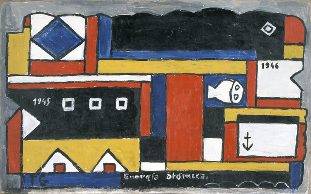 , 'Energía atómica (Atomic energy),' 1946, The Museum of Modern Art