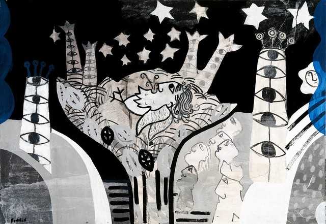 , 'A Vision of the Birdman,' , Solo Arte