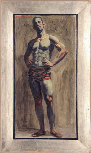 Mark Beard, '[Bruce Sargeant (1898-1938)] Wrestler in Singlet', n.d., ClampArt