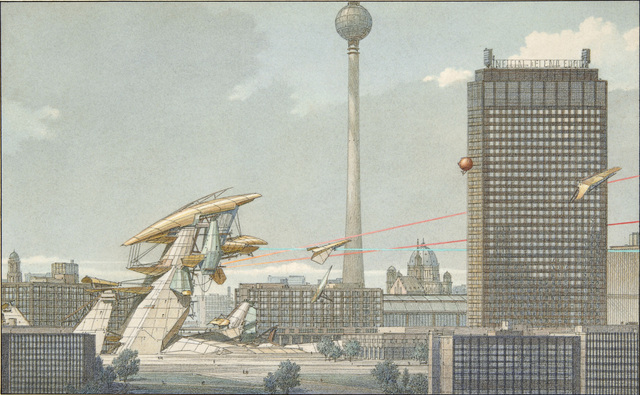 , 'Underground Berlin 19, Elevation View,' 1988, Edward Cella Art and Architecture