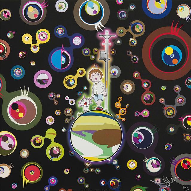 Takashi Murakami, 'Jellyfish eyes', 2013, Galerie Raphael
