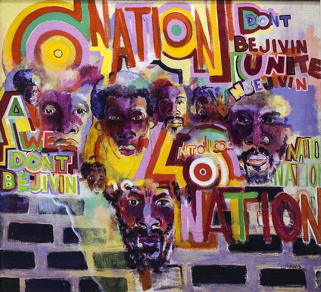 , 'Nation Time,' 1969, ICA Philadelphia
