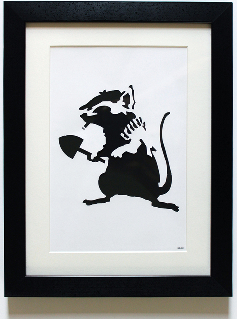 Banksy, 'Rat Stencil', 2002, EHC Fine Art: Essential Editions IX