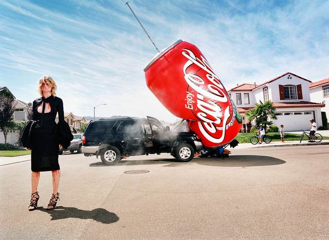 , 'I Buy Big Car for Shopping,' 2002, Staley-Wise Gallery