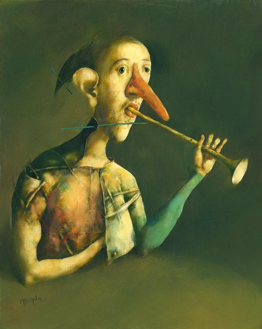 , 'Le trompettiste au faux nez,' 2014, Turner Carroll Gallery