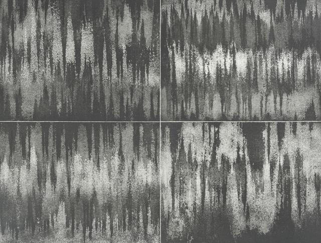 , 'Aux quatre vents: courant d'air (graphite), #1,' 2017-2018, Galerie Antoine Ertaskiran