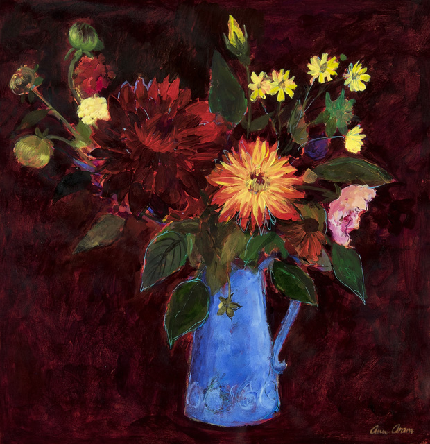 , 'Dahlias & Other Flowers,' 2017, Thackeray Gallery