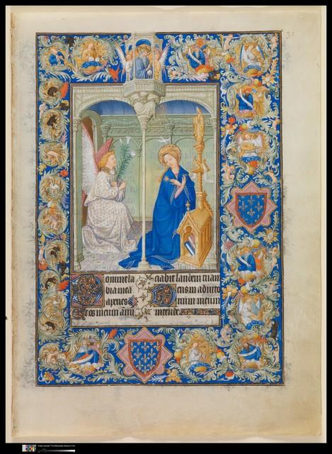 Limbourg Brothers, 'The Belles Heures of Jean de France, duc de Berry', ca. 1405–1409, The Metropolitan Museum of Art