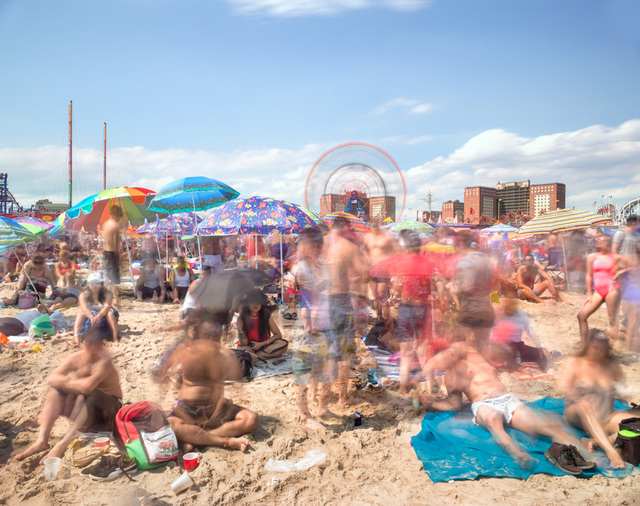 Matthew Pillsbury, 'Coney Island, July 4th, 2017 (TV17064)', 2017, Benrubi Gallery