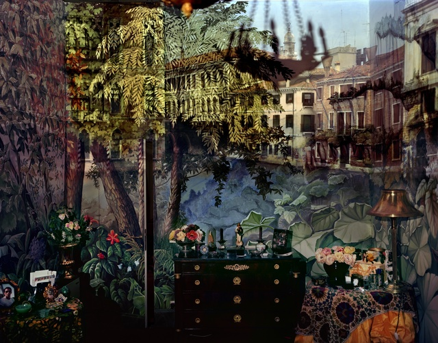 , 'Camera Obscura: View of Volta del Canal in Palazzo Room Painted with Jungle Motif, Venice, Italy,' 2008, Huxley-Parlour