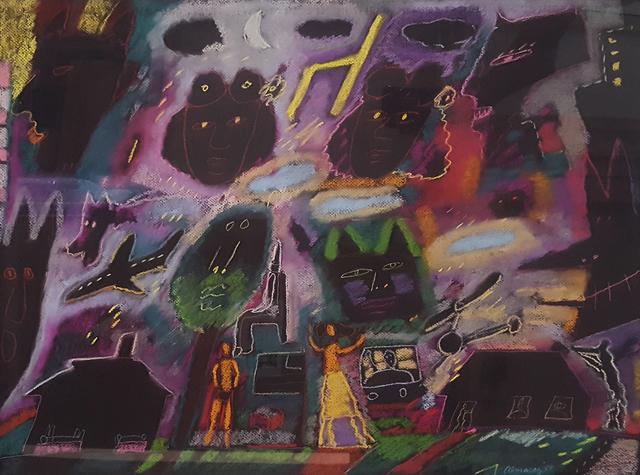 Carlos Almaraz, 'Sisters', 1988, Craig Krull Gallery