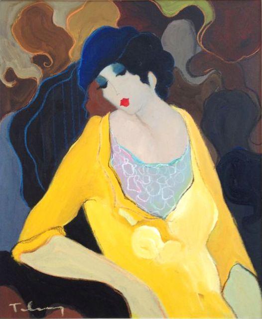 , 'Woman in Yellow Suit,' 1996, Barnett Fine Art