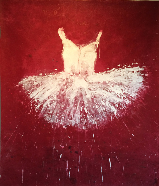 , 'White and Grey Tutu,' 2014, Galleria Ca' d'Oro