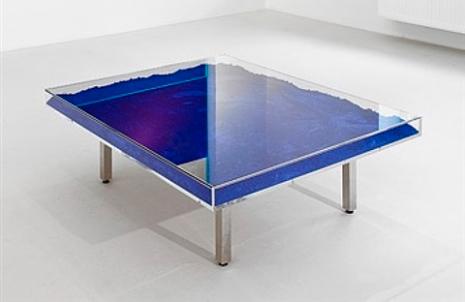 , 'Table pigment Bleu 01,' 2016, Galeria Raquel Arnaud