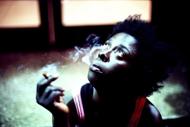 , 'Sapphire smoking,' 2013, Magnum Photos