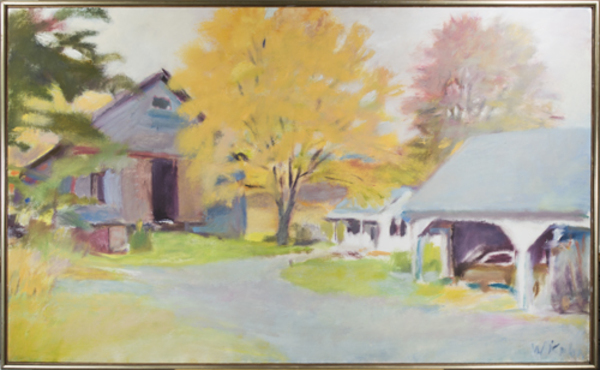 , 'Vacation House in Guilford,' 1976, David Barnett Gallery