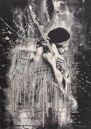 Jimi Hendrix (Silver)