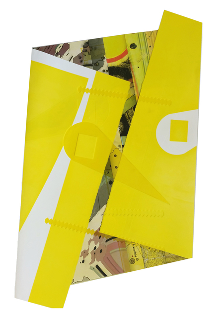 , 'Folded Yellow Thing,' 2016, Bruno David Gallery & Bruno David Projects