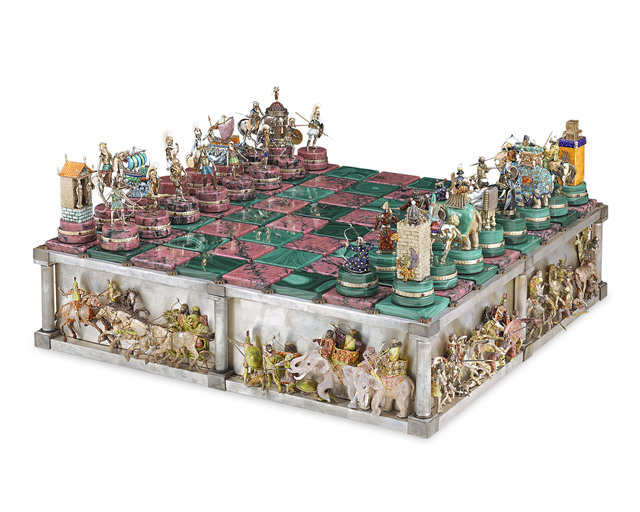 , 'The Battle of Issus Chess Set ,' 1990-2016, M.S. Rau Antiques
