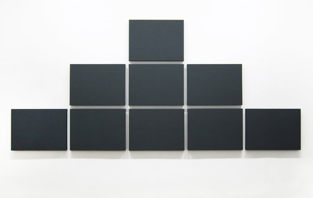 , 'Pyramid Grid Painting,' 2011, Walter Storms Galerie