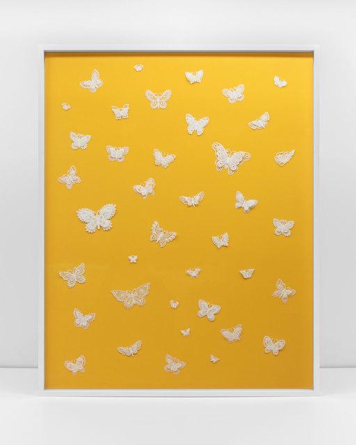, 'Handmade: The Burano Suit (yellow background),' 2017, Rena Bransten Gallery