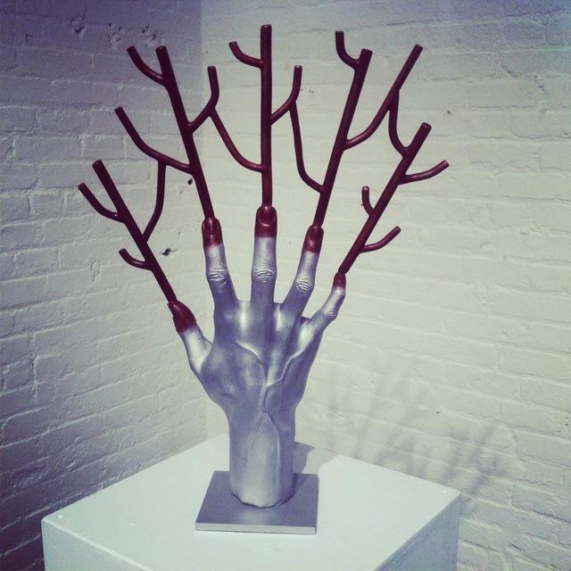 , 'Transfusion (in Process),' 2012, Polka Galerie