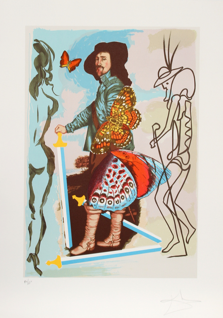 Salvador Dalí, 'Courtier from Papillon Anciennes', 1976, RoGallery